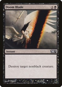 Doom Blade, Magic: The Gathering, Magic 2012 (M12)