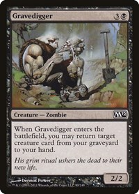 Gravedigger, Magic: The Gathering, Magic 2012 (M12)