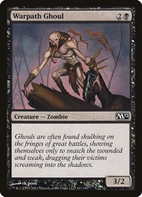 Warpath Ghoul, Magic: The Gathering, Magic 2012 (M12)