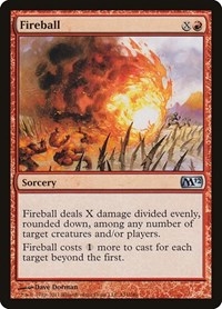 Fireball, Magic: The Gathering, Magic 2012 (M12)