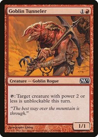 Goblin Tunneler, Magic, Magic 2012 (M12)