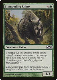 Stampeding Rhino, Magic: The Gathering, Magic 2012 (M12)