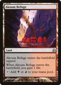 Akoum Refuge, Magic: The Gathering, Commander