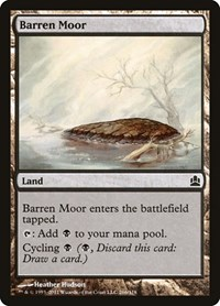 Barren Moor, Magic: The Gathering, Commander