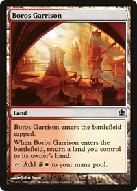 Boros Garrison, Magic: The Gathering, Commander