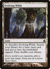 Evolving Wilds, Magic: The Gathering, Commander