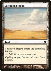 Secluded Steppe, Magic: The Gathering, Commander