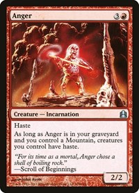 Anger, Magic: The Gathering, Commander