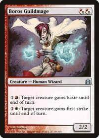 Boros Guildmage, Magic: The Gathering, Commander