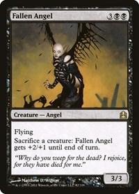 Fallen Angel, Magic, Commander