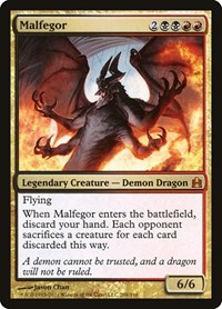 Malfegor, Magic: The Gathering, Commander