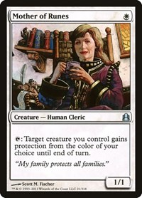 Mother of Runes, Magic: The Gathering, Commander
