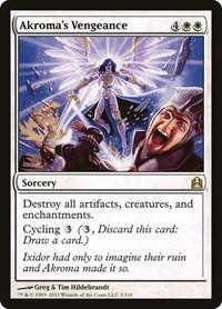 Akroma's Vengeance, Magic: The Gathering, Commander