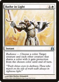 Bathe in Light, Magic, Commander