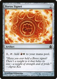 Boros Signet, Magic, Commander