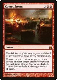 Comet Storm, Magic: The Gathering, Commander