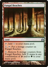Fungal Reaches, Magic: The Gathering, Commander