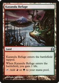 Kazandu Refuge, Magic: The Gathering, Commander
