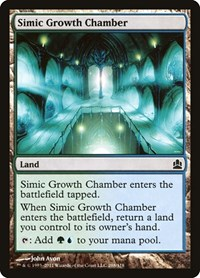Simic Growth Chamber, Magic: The Gathering, Commander