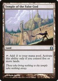 Temple of the False God, Magic: The Gathering, Commander