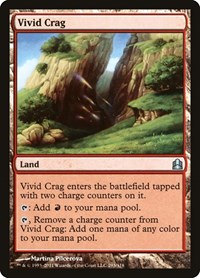 Vivid Crag, Magic: The Gathering, Commander