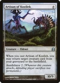 Artisan of Kozilek, Magic: The Gathering, Commander