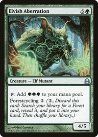 Elvish Aberration, Magic: The Gathering, Commander