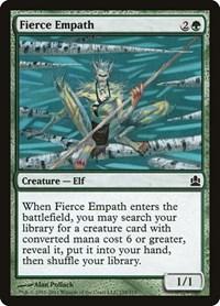 Fierce Empath, Magic: The Gathering, Commander