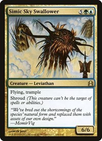 Simic Sky Swallower, Magic: The Gathering, Commander