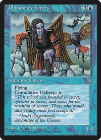 Illusionary Forces, Magic: The Gathering, Ice Age