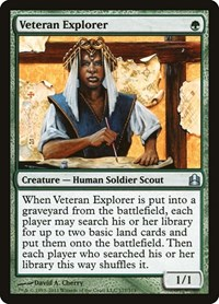 Veteran Explorer, Magic: The Gathering, Commander