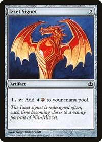 Izzet Signet, Magic: The Gathering, Commander