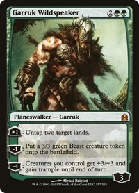 Garruk Wildspeaker, Magic, Commander