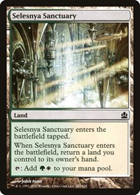 Selesnya Sanctuary, Magic: The Gathering, Commander
