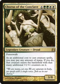 Chorus of the Conclave, Magic: The Gathering, Commander