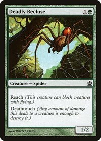 Deadly Recluse, Magic: The Gathering, Commander