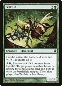 Fertilid, Magic: The Gathering, Commander