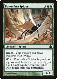 Penumbra Spider, Magic: The Gathering, Commander