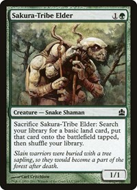 Sakura-Tribe Elder, Magic: The Gathering, Commander