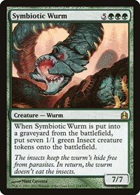 Symbiotic Wurm, Magic: The Gathering, Commander