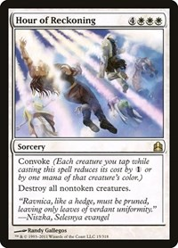 Hour of Reckoning, Magic: The Gathering, Commander