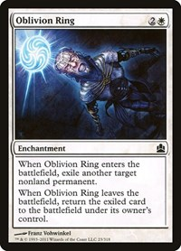 Oblivion Ring, Magic, Commander