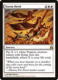 Storm Herd, Magic: The Gathering, Commander