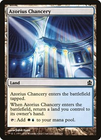 Azorius Chancery, Magic: The Gathering, Commander