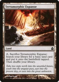 Terramorphic Expanse, Magic: The Gathering, Commander