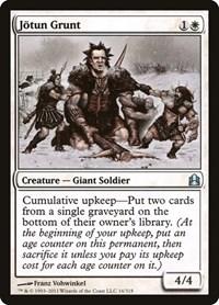 Jotun Grunt, Magic: The Gathering, Commander