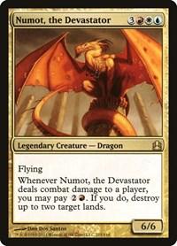 Numot, the Devastator, Magic: The Gathering, Commander