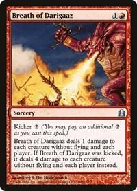 Breath of Darigaaz, Magic: The Gathering, Commander
