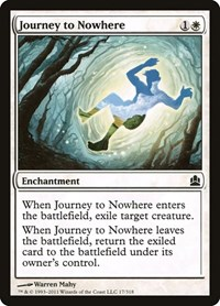 Journey to Nowhere, Magic: The Gathering, Commander