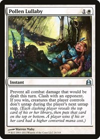 Pollen Lullaby, Magic: The Gathering, Commander